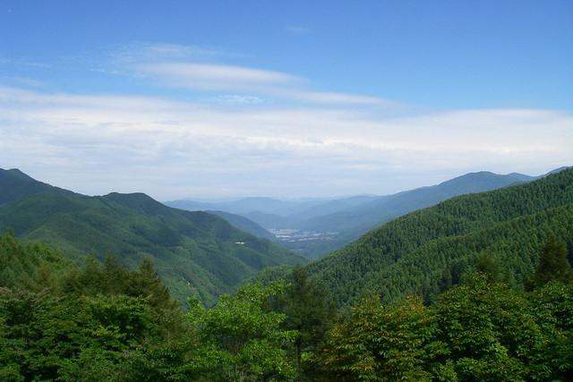 分杭峠(長野県)